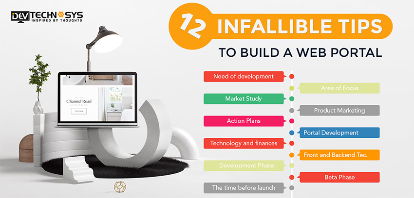 12 Infallible tips to build a Web Portal