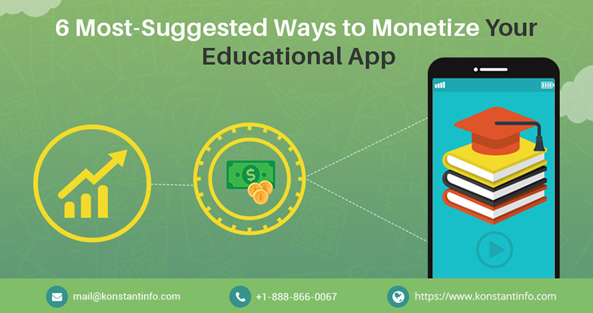 6 Popular Ways to Monetize Your Educational App