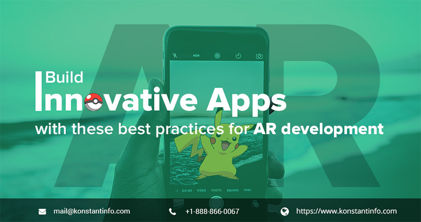 Build Innovative Apps with These Best Practices for AR Development