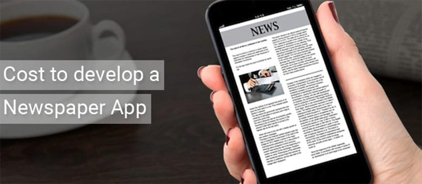 How much does it cost to develop a newspaper app?