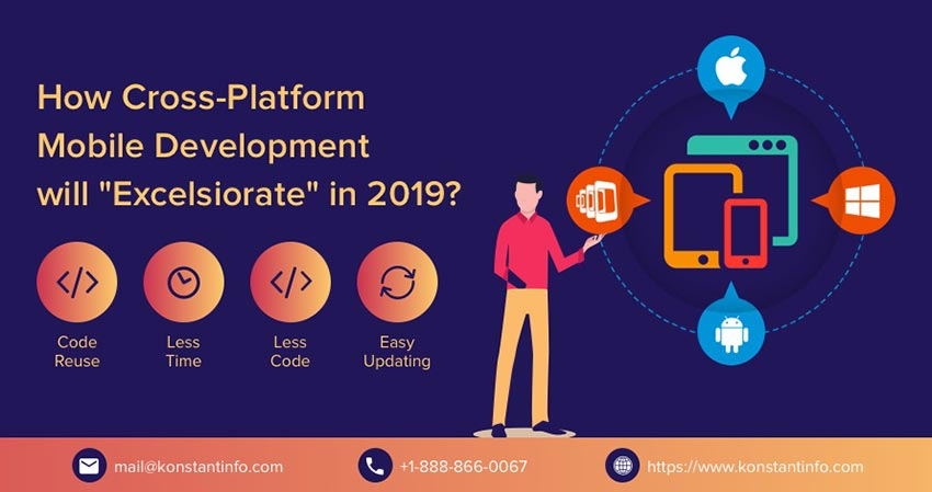 How Cross-Platform Mobile Development will Excelsior in 2019?