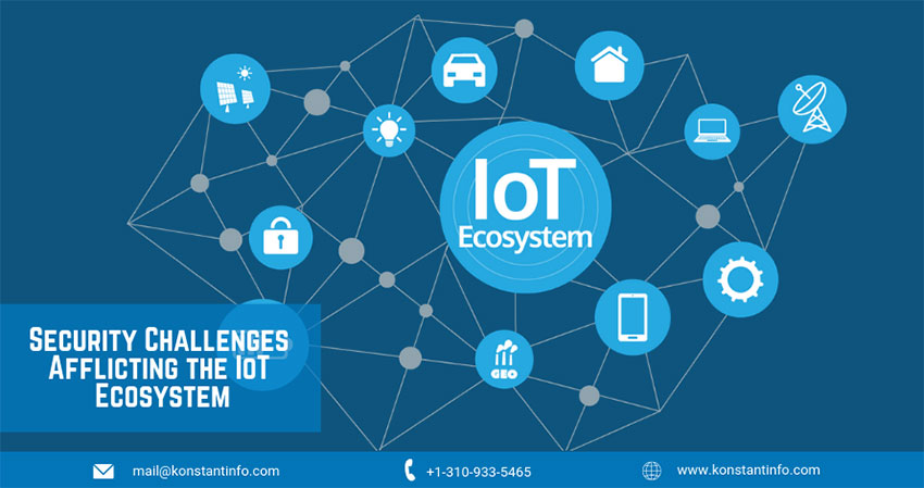 Top 6 Security Challenges Afflicting the IoT Ecosystem