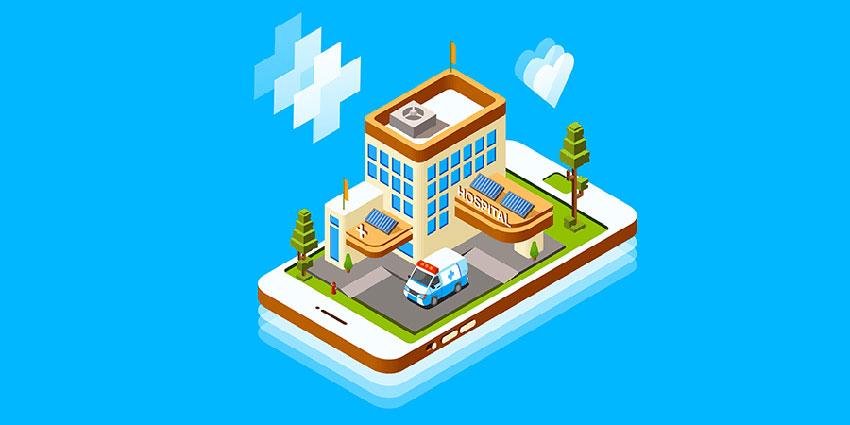 How the Mobile Healthcare App Monitor Patients efficiently without staying at Hospitals?
