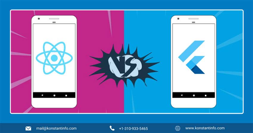 React Native vs. Flutter: Select Best Cross-Platform App Development Platform