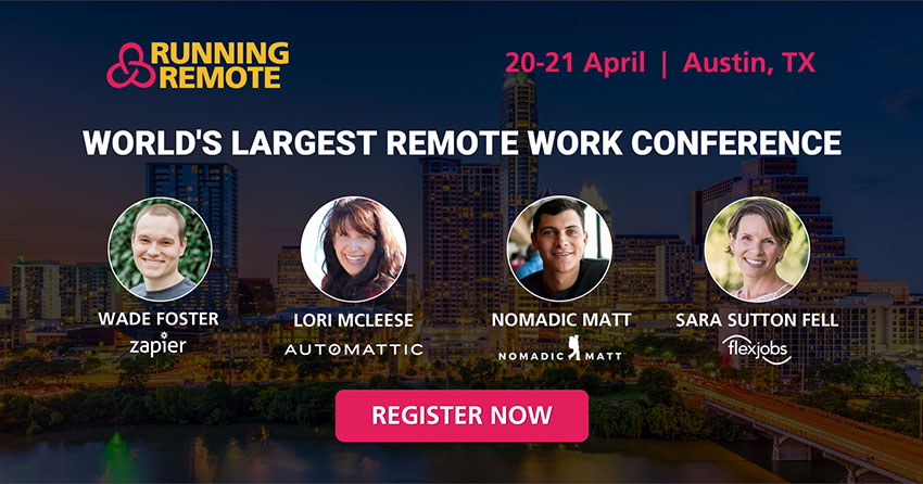 Are You Already Hiring Remotely? Join The Top Remote Businesses For Running Remote Conference in Austin