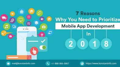 7 reasons why you need to prioritize mobile app development in 2018