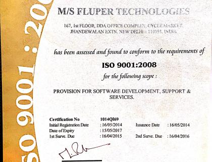 ISO 9001:2008 Certified IT Company.